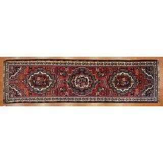 Bahktiari Runner, Persia, 3.4 x 11.11