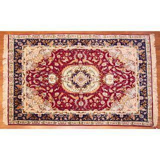 Tabriz Rug, Persia, 5.11 x 6.11