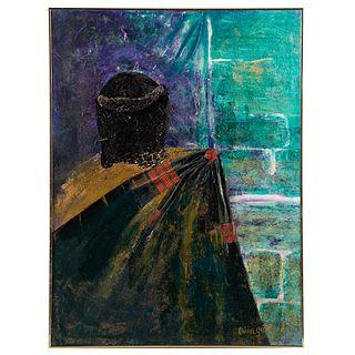 Olivia Gatewood. Untitled Abstract, mixed media