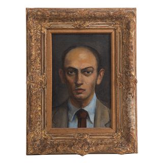 Walt Kuhn. Portrait of a Young Man, oil