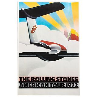 John Pasche. The Rolling Stones American Tour 1972