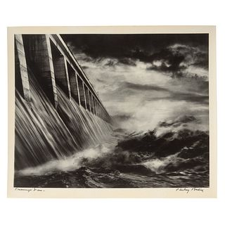 "A. Aubrey Bodine. ""Conowingo Dam,"" photograph"