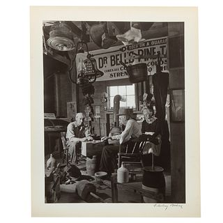 """A. Aubrey Bodine. """"Country Store,"""" photograph"""