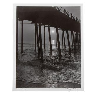 "A. Aubrey Bodine. ""Ocean Sunrise,"" photograph"