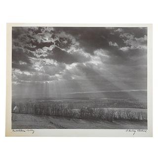 """A. Aubrey Bodine. """"Middletown Valley,"""" photo"""