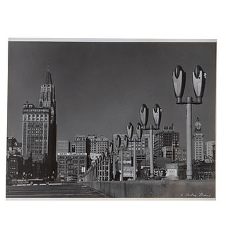 "A. Aubrey Bodine. ""Parking Meters,"" photograph"