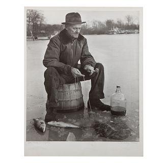 "A. Aubrey Bodine. ""Spa Creek, Annapolis,"" photo"
