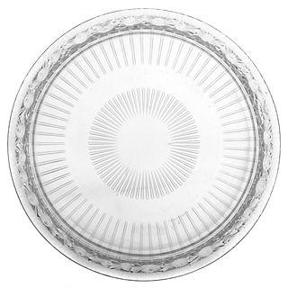 Lalique Crystal Marguerites Bowl