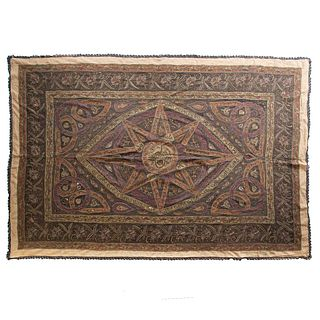 Persian Metallic Thread Tapestry