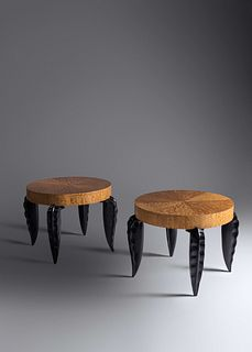 Peter Dudley (b. 1962) Pair of Side Tables