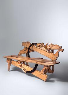 John Cederquist (b. 1946) Flat Foot Floogie Builds a Bench, c. 2003