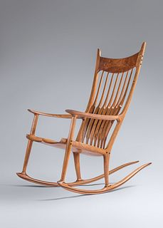 Sam Maloof (1916-2009) Rocking Chair, 1993