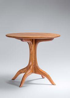 Sam Maloof (1916-2009) Pedestal Table, 1993