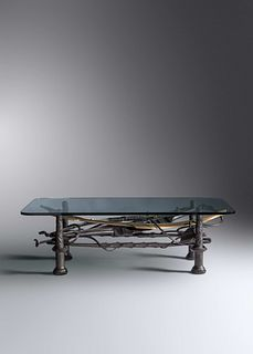 Albert Paley (b. 1944) Coffee Table, 1988Edition of 8