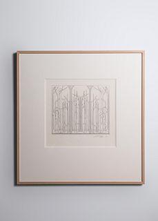Albert Paley(b. 1944)Proposal #1 for Memorial Gate, Ackland Art Museum, University of North Carolina at Chapel Hill, 1998