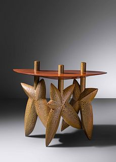Wendell Castle (1932-2018) Three-Star Console Table, 1996