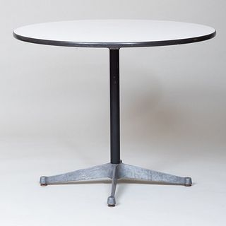 Eames Laminate and Metal Dining Table for Herman Miller