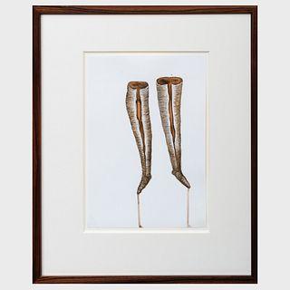 Faith Wilding (b. 1943): Bloody Boots