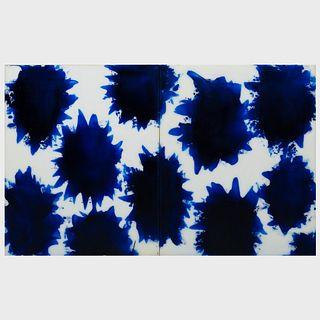 David Ortins (b. 1957): Painting No. 2192 P
