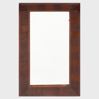 Attributed to Adolf Loos (1970-1933): A Mahogany Mirror