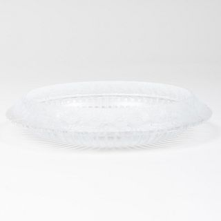 Lalique Glass 'Marguerites' Bowl
