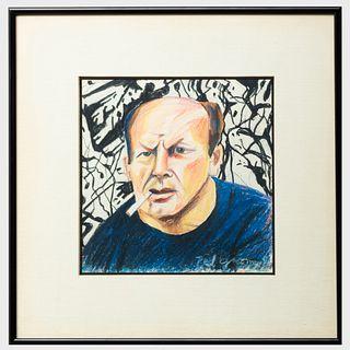Red Grooms (b. 1937): Jackson Pollock