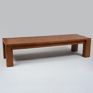 Modern Hardwood Low Table