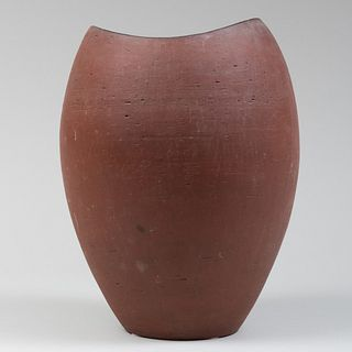 Large Danish Studio Pottery Vase (Umbrella Stand)