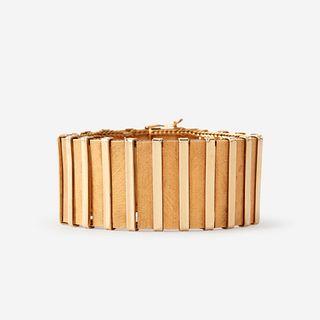 An eighteen karat gold bracelet, Uno A Erre,