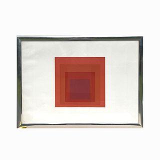 "Josef Albers ""JHM-I"" Screenprint"