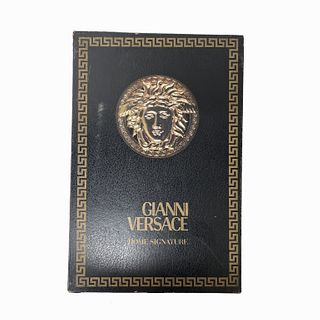 Gianni Versace Red Medusa Tablecloth and Napkins