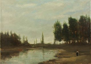 CHARLES FRANCOIS DAUBIGNY (FRENCH, 1817-1878).