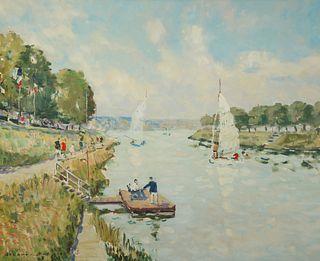 JACQUES BOUYSSOU (FRENCH, 1927-1997).