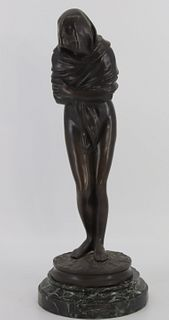 """Jean-Antoine Houdon (1741 - 1828) """"The Cold One"""""""