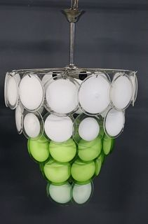 Large And Impressive Camer Style Chandelier.