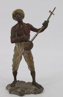 Bergman Cold Painted Austrian Bronze Figure