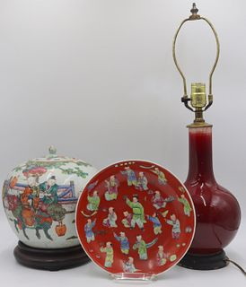 Grouping of Chinese Porcelain.