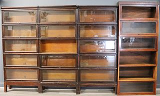 Lot Of Barrister Bookcases.