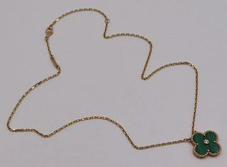 JEWELRY. Van Cleef & Arpels Alhambra 18kt Gold,