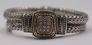 JEWELRY. Signed Sterling, 14kt Gold, and Diamond