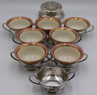STERLING. Assorted Grouping of Hollowware.