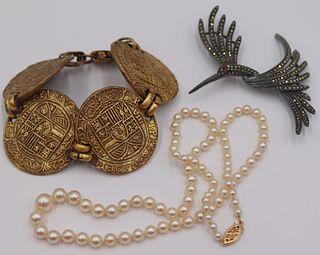 JEWELRY. Assorted Jewelry Inc Gold and Hattie