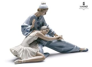 "A Lladro ""Closing Scene"" Porcelain sculpture"