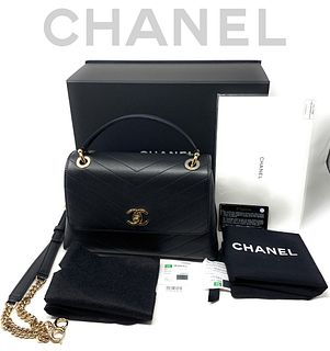 CHANEL SM FLAP HANDBAG, BRAND NEW