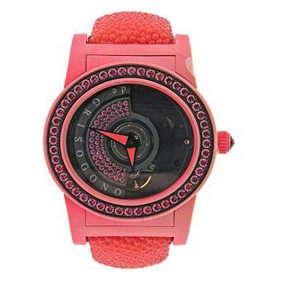 De Grisogono Tondo Pink Sapphire Red Watch 003254 1110700
