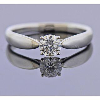 Tiffany & Co 0.40ct E VS1 Diamond Platinum Engagement Ring