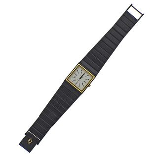 Concord Mariner SG Black Steel Gold Quartz Watch