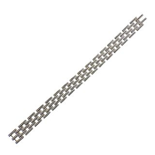 Kwiat 18k Gold Diamond Link Bracelet