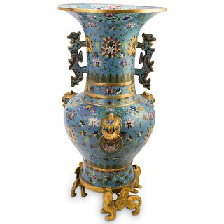 19th Cent. Chinese Cloisonne Vase