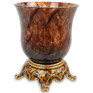 Jay Strongwater Large Jeweled Votive Bouquet